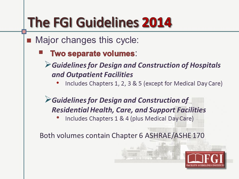 Health facilities management ppt video online download for Child care center design guide