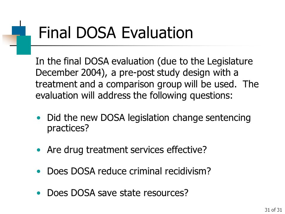 Final DOSA Evaluation