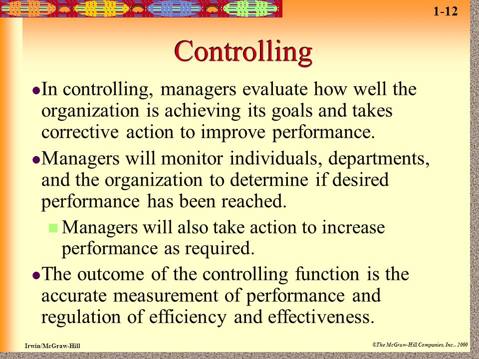1-12 Controlling.
