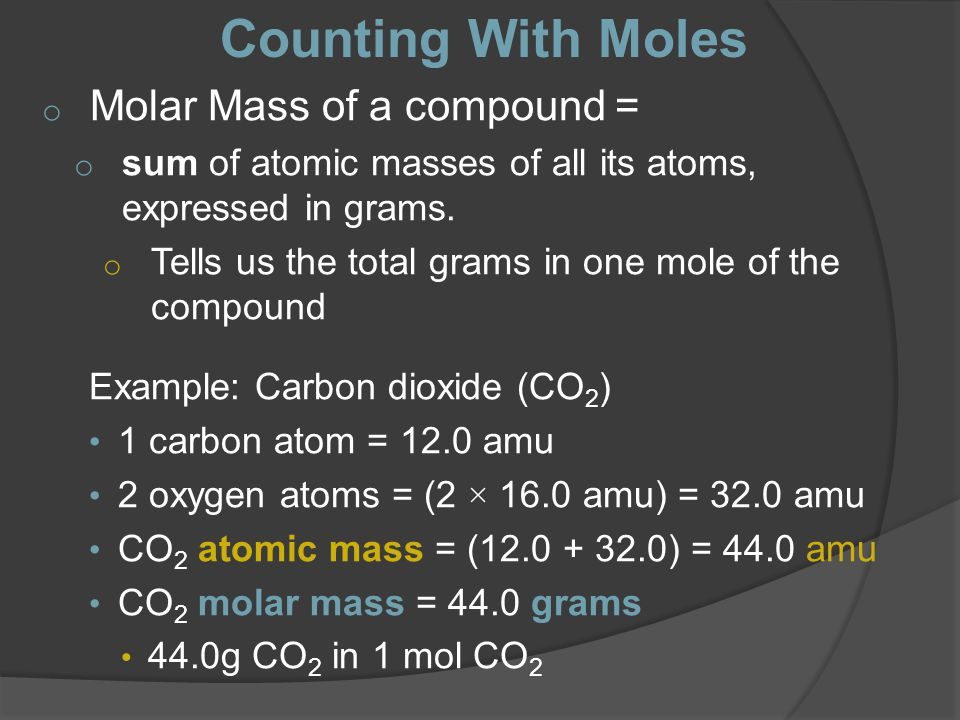 Bell Ringer What is a Mole? What is the mass of a NaCl molecule ...