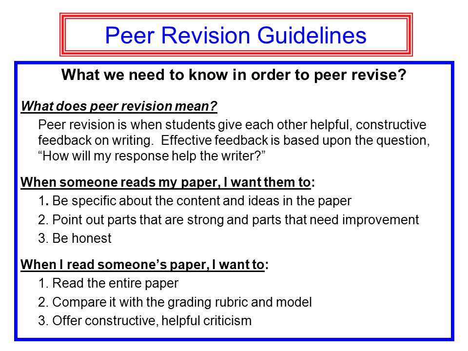 essay writing expository writing opinion essay ppt video  peer revision guidelines