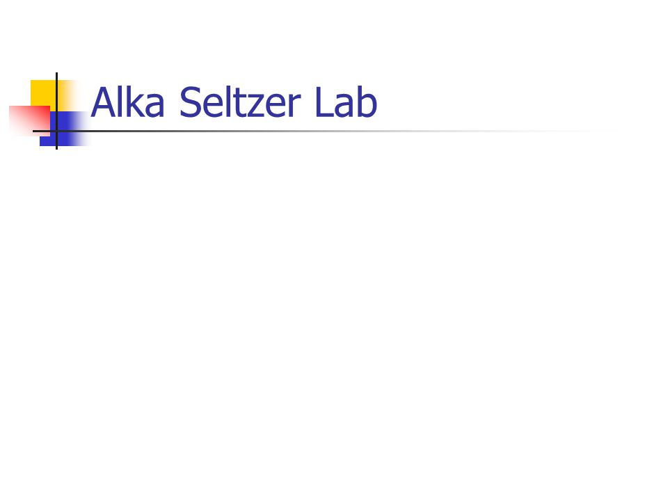 alka seltzer lab A common remedy is an over-the-counter medication called alka seltzer alka seltzer is a base , or a molecule that can take up hydrogen ions anything that donates hydrogen ions, like the liquid .