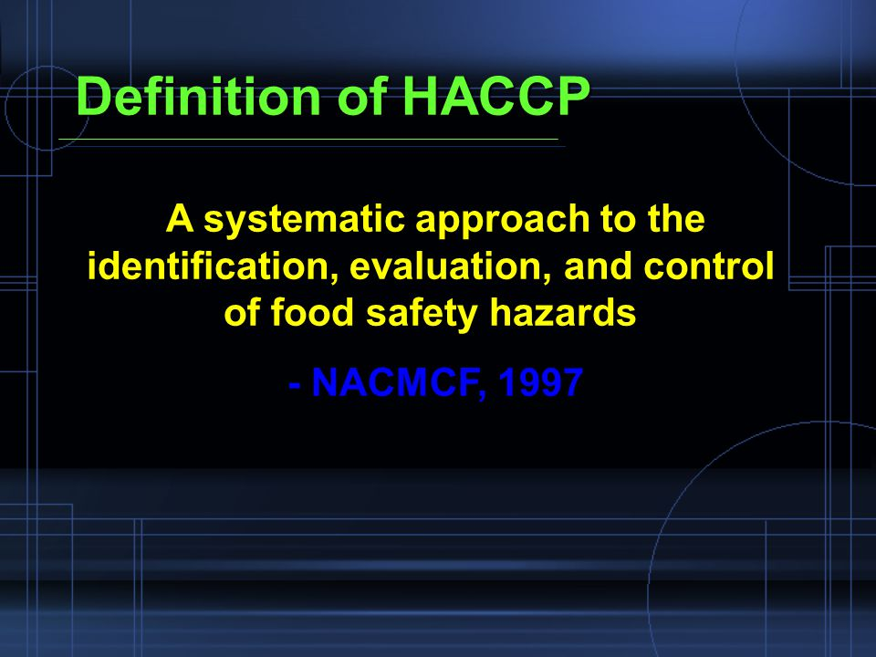 Food service and haccp perfect partners for food safety - Haccp definition cuisine ...