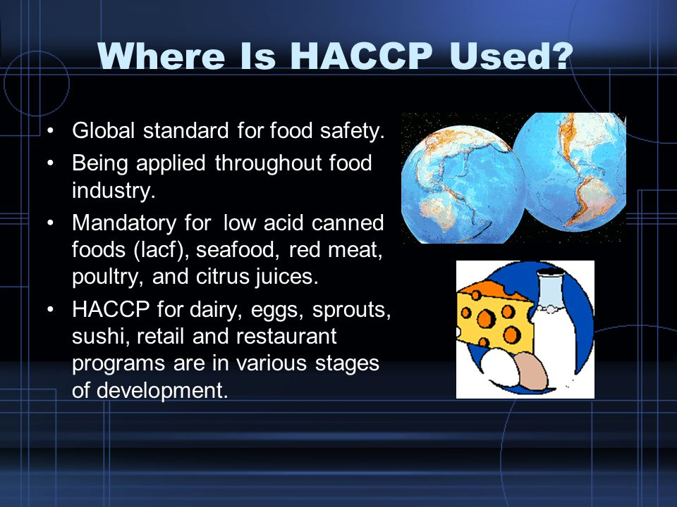 Introduction to HACCP & Food Safety Plan