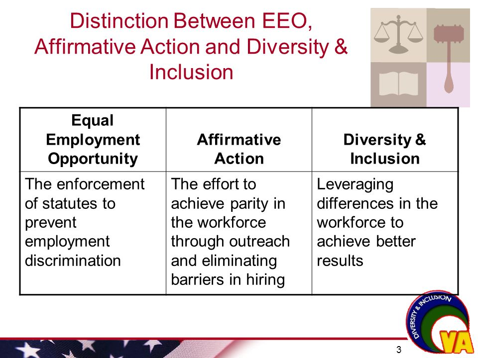 affirmative action equal opportunity or discrimination Affirmative action and equal opportunity - affirmative action and equal opportunity - edi - uw-superior.