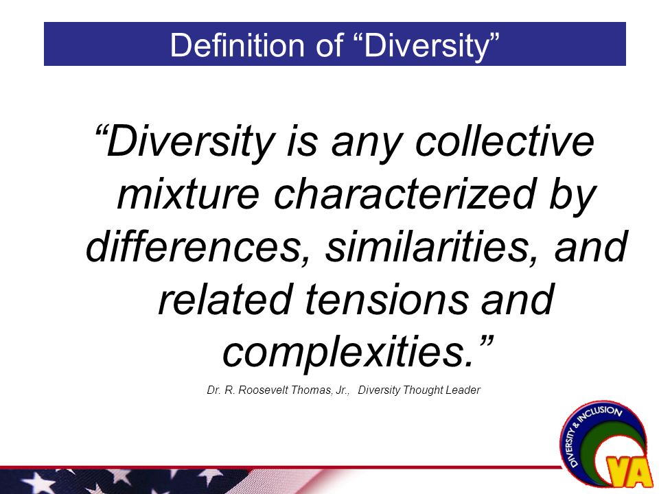 define diversity thesis The following thesis attempts to discuss the topic of intercultural competence   there is no simple way to define culture and there is no single definition with.