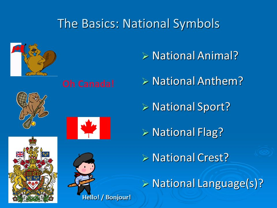 The Basics: National Symbols