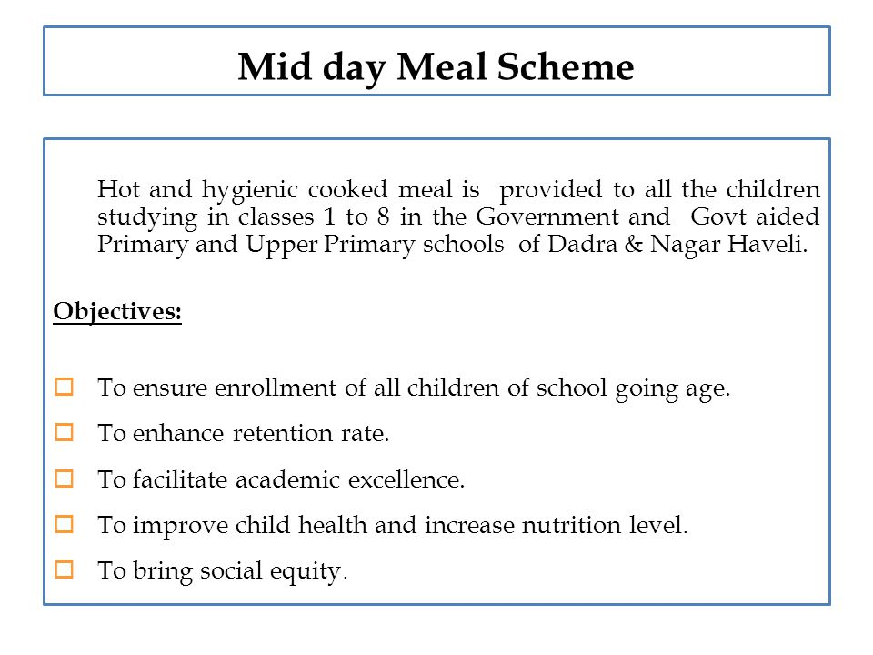 essay on mid day meal When tamil nadu's mid-day meal scheme is the country's largest in terms of the  number of beneficiaries and the quality of food, orissa is one of those states.