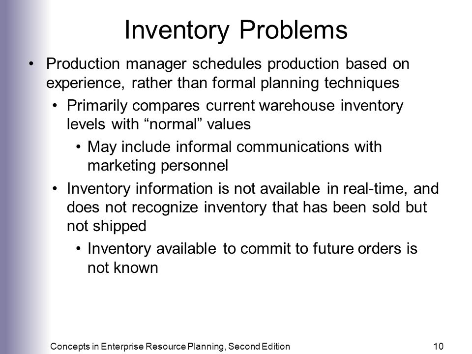 inventory problems Comments inventory problems under the federal income tax inventories have traditionally been the source of some of the most difficult tax accounting problems.