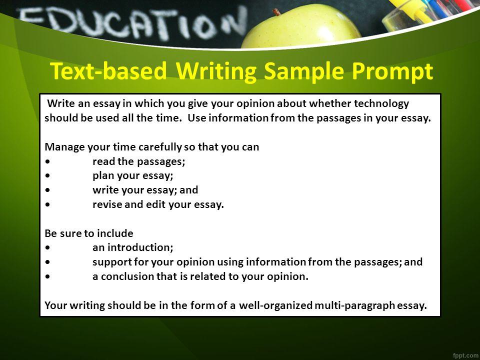 Conclusion paragraph text-based essay about literature