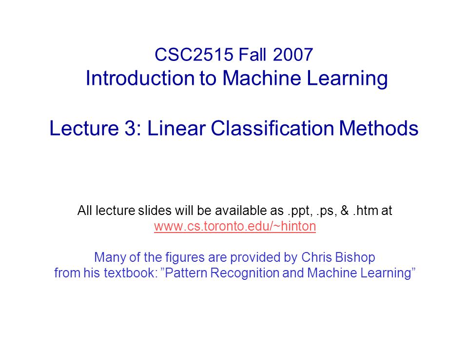 pattern recognition and machine learning bishop pdf download