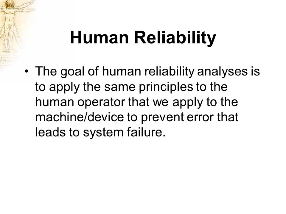 human error vs capability Labs - error analysis apparatus capabilities the term human error should also be absolutely avoided in error analysis discussions because it is too.