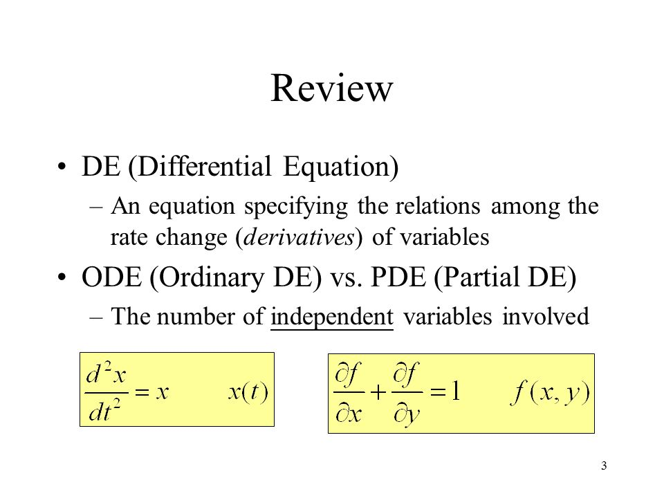 ordinary differential equations Ordinary differential equations-lecture notes when i taught the ordinary differential solving various types of differential equations.