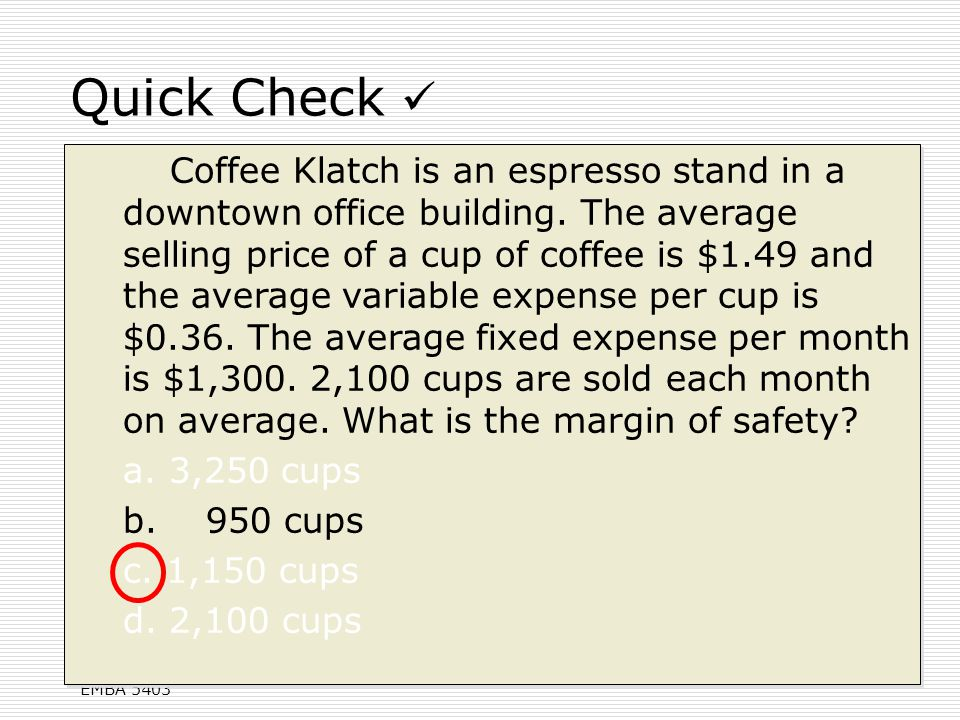 how to find percentage of variable expenses