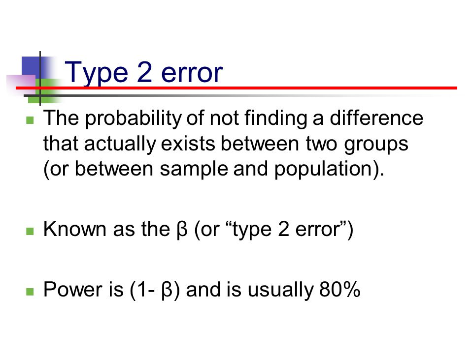 relationship between type 2 error and sample size