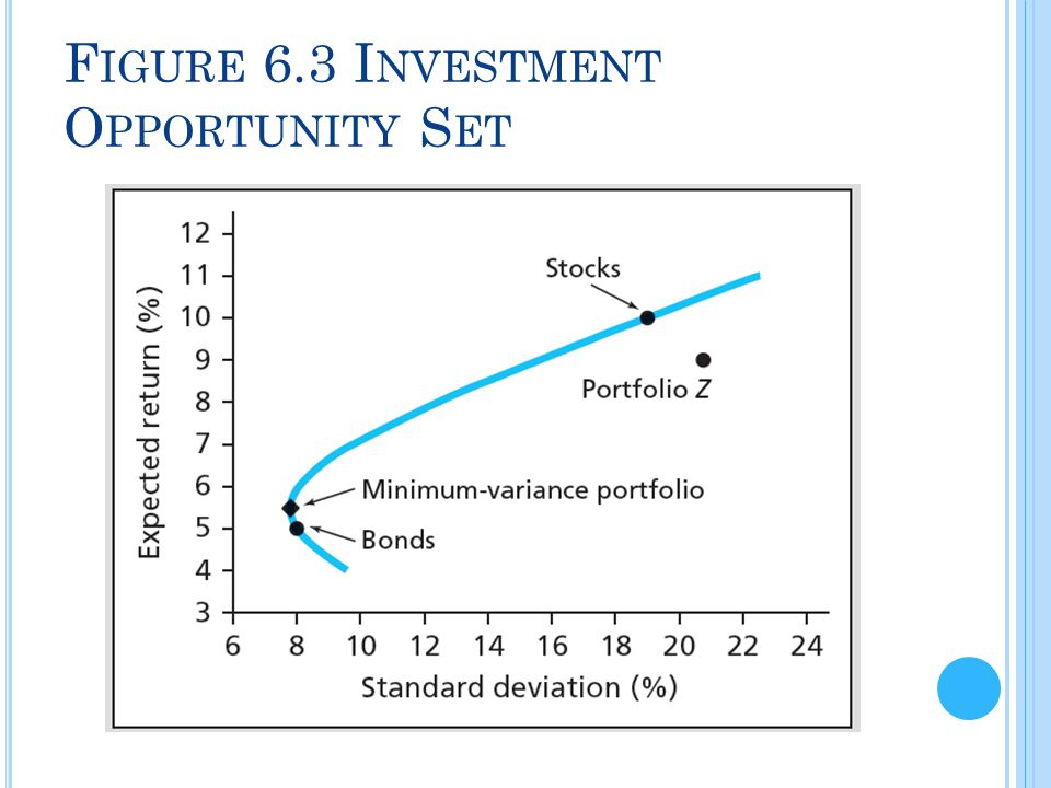 Figure 6.3 Investment Opportunity Set