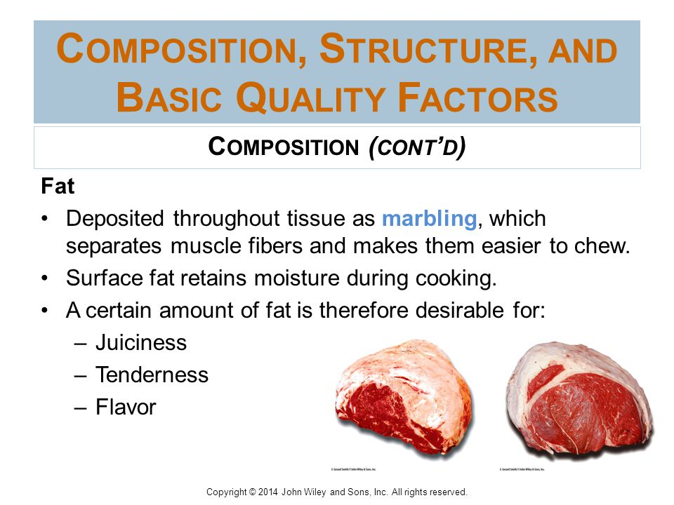 composition and structure of meat Structure and chemical composition of raw hides and skins woman's institute library of cookery volume 3 meat science chemical composition of meat.
