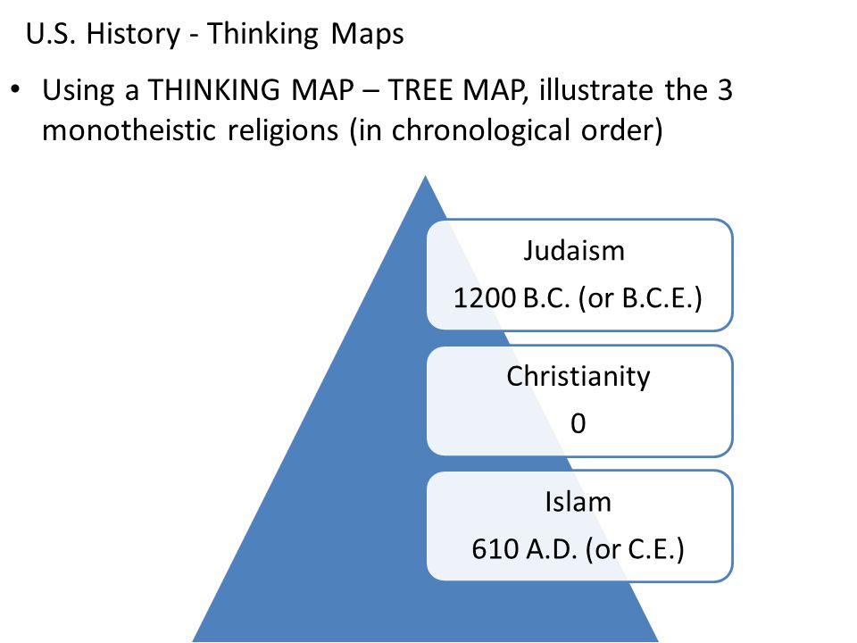 U S History Thinking Maps