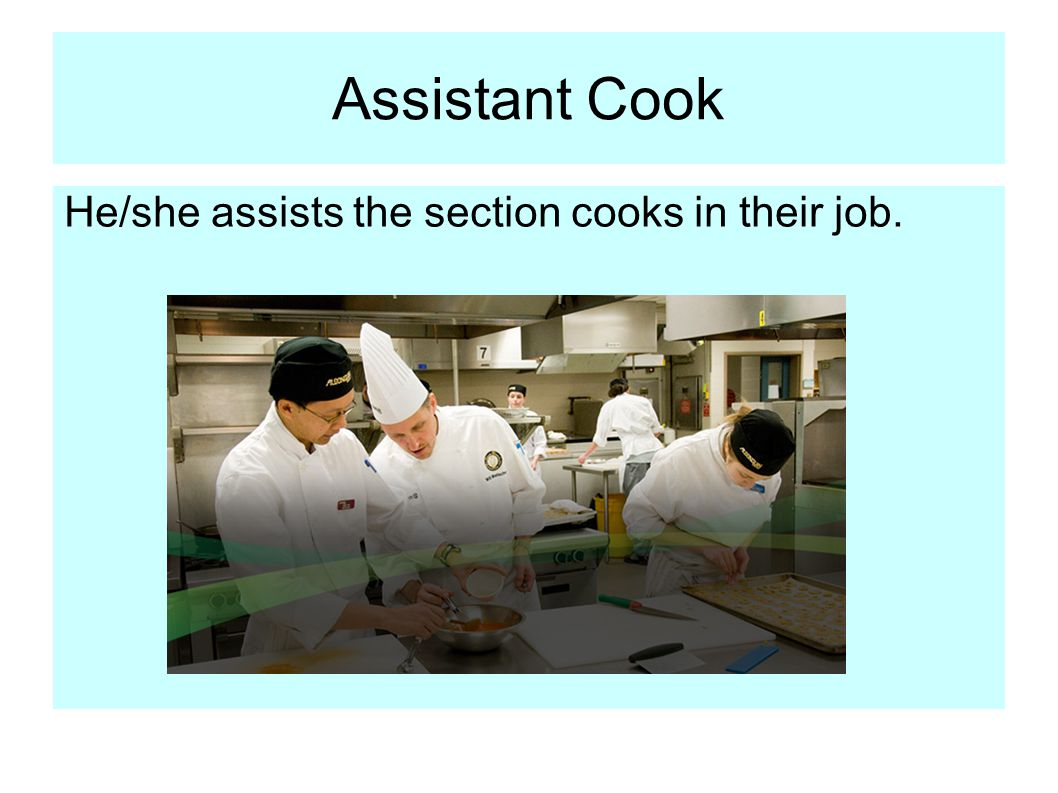The Kitchen Brigade. - ppt video online download