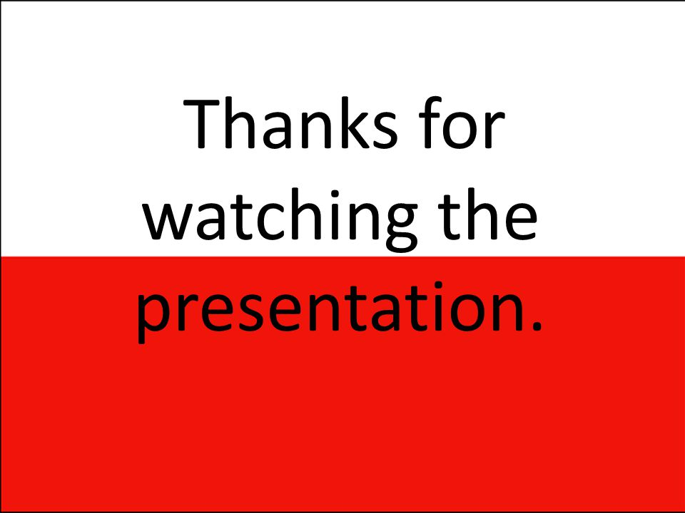 Thanks for watching the presentation.