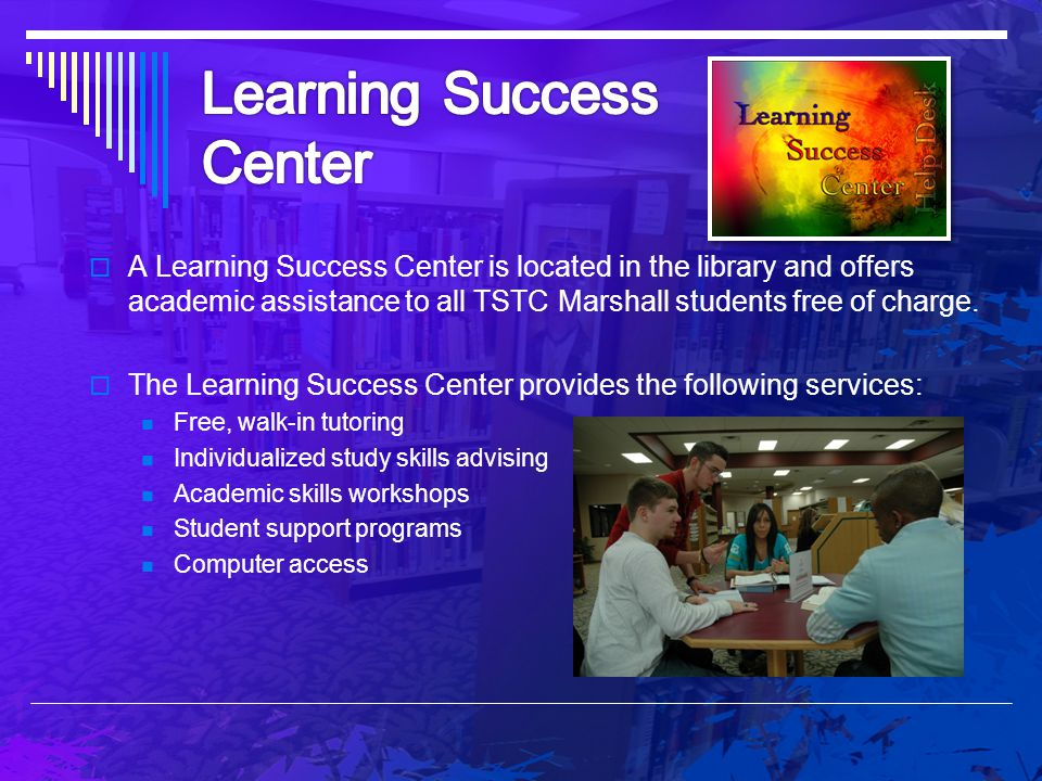 Learning Success Center