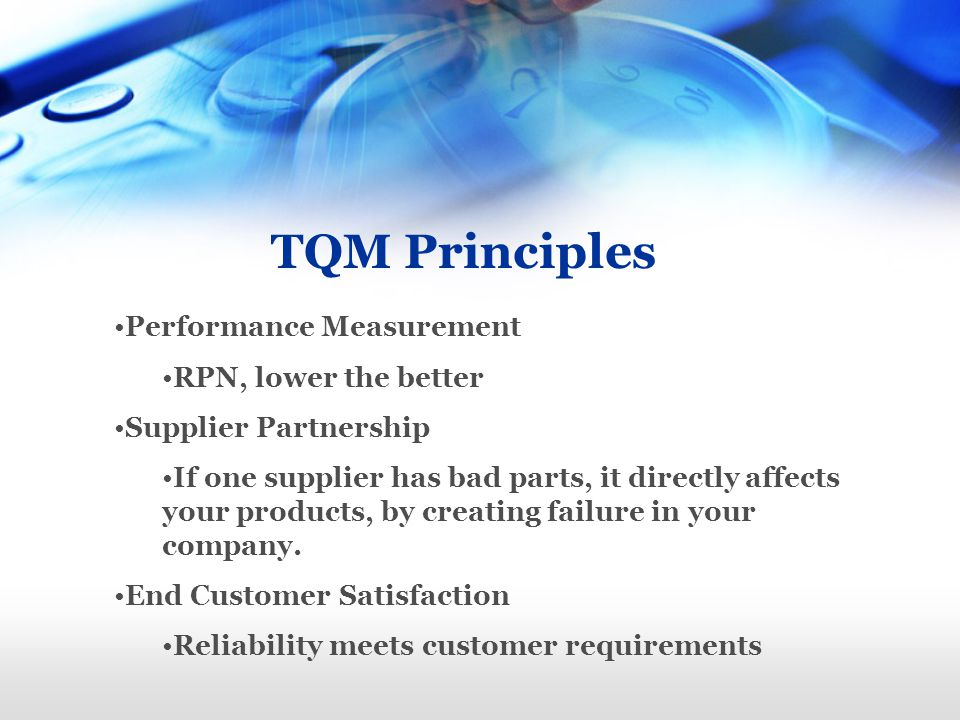 tqm supplier partnership Pdf | this paper examines the importance of strategic supplier partnership (ssp) in supply chain management (scm) in associations with product quality performance (pqp) and business performance .