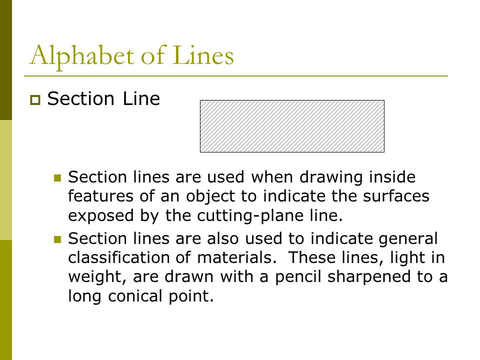 Lines Are Used In Art To Indicate : Drafting plans ppt video online download