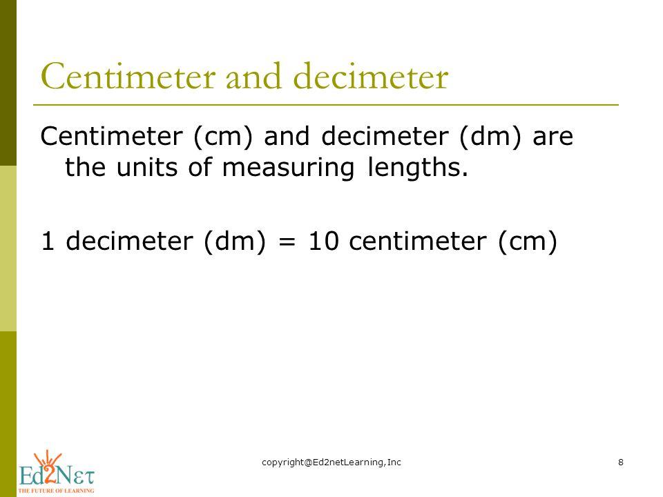 hvor mange centimeter er der på en meter