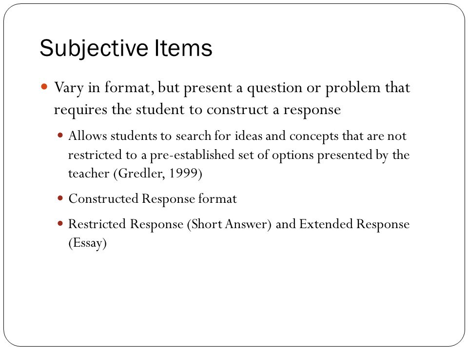 essay question response format You can use the free response questions and scoring guidelines below as you prepare for the ap united states history about the exam format sample questions.