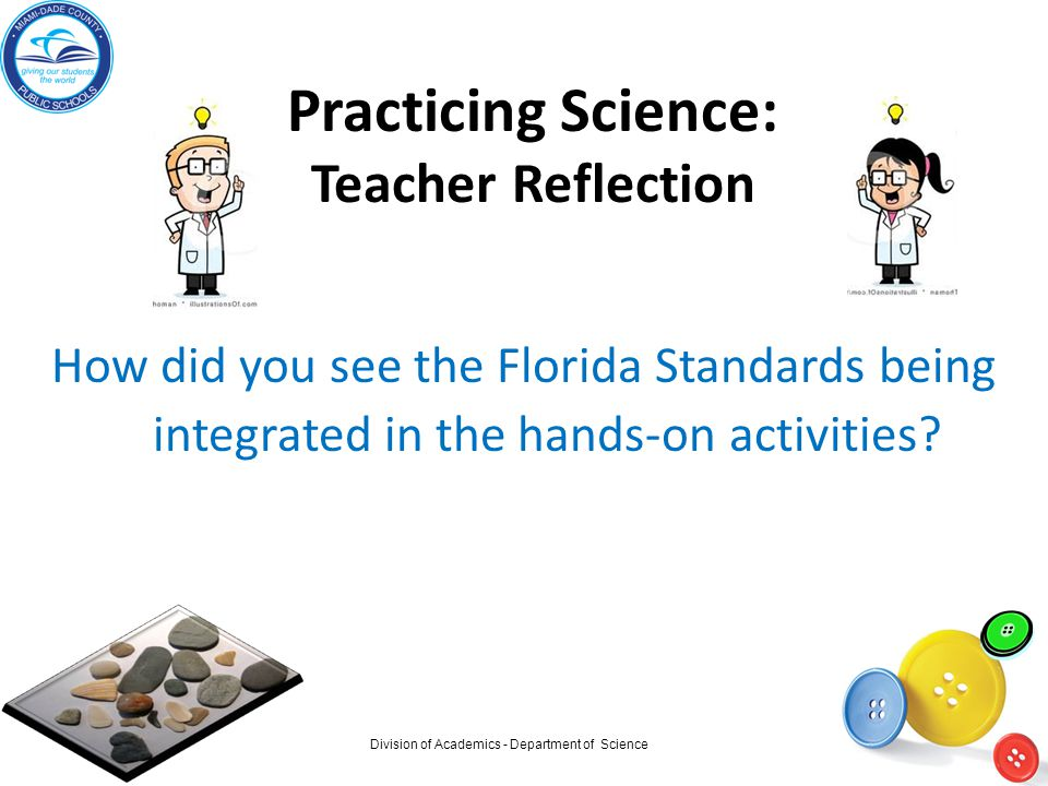 Practicing Science: Teacher Reflection