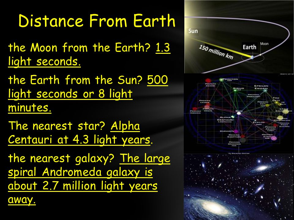 Exit : Why is a light year called a light year? - ppt download