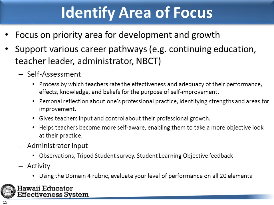 identify an area of professional development for differentiated instructionmat the worksite