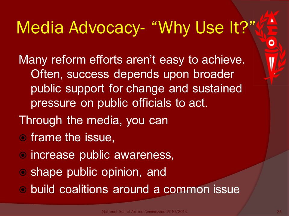 an introduction to the awareness and advocating for change Learn how to properly plan for advocacy to avoid surprises that might make you  look ineffective,  normally, planning your goals comes first--but you may have to  change those plans if you find,  increase public awareness through a media  campaign educate the merchants gather  introduction to advocacy planning.