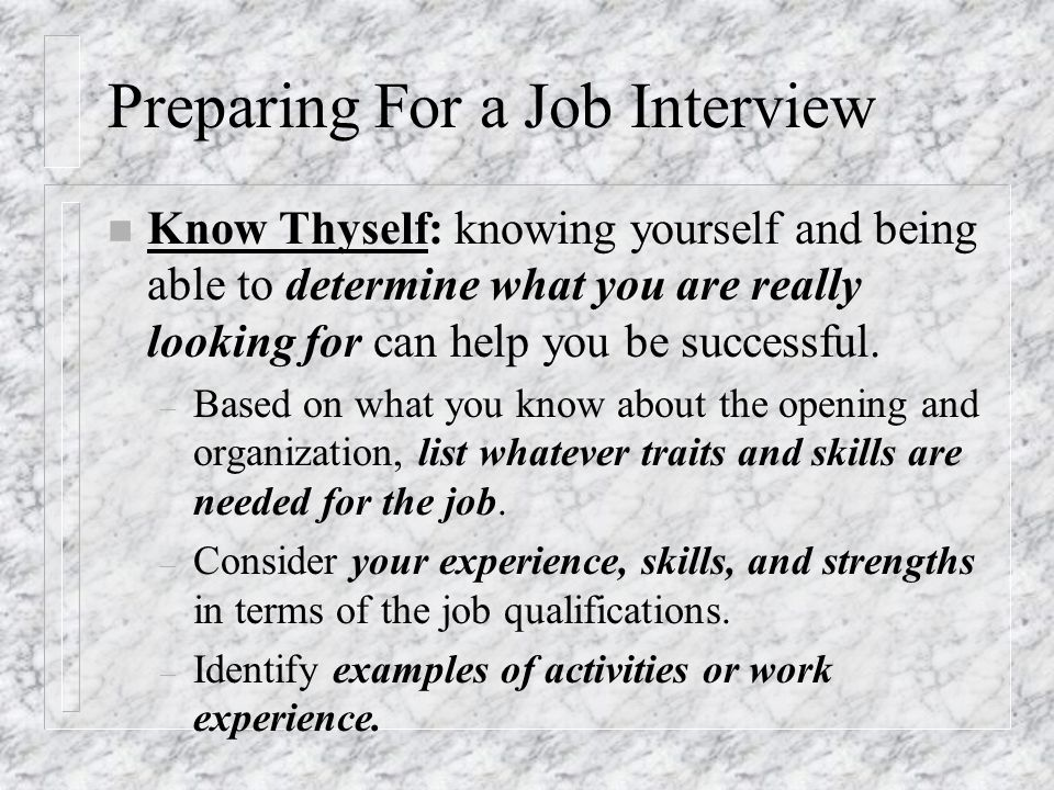 job qualifications list - Botbuzz.co