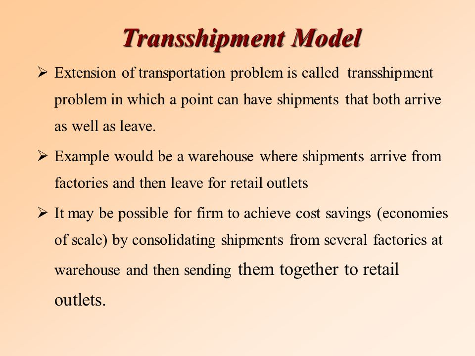 transshipment linear programming J math model algor (2011) 10:163–180 doi 101007/s10852-010-9147-8 fuzzy linear programming approach for solving fuzzy transportation problems with transshipment.