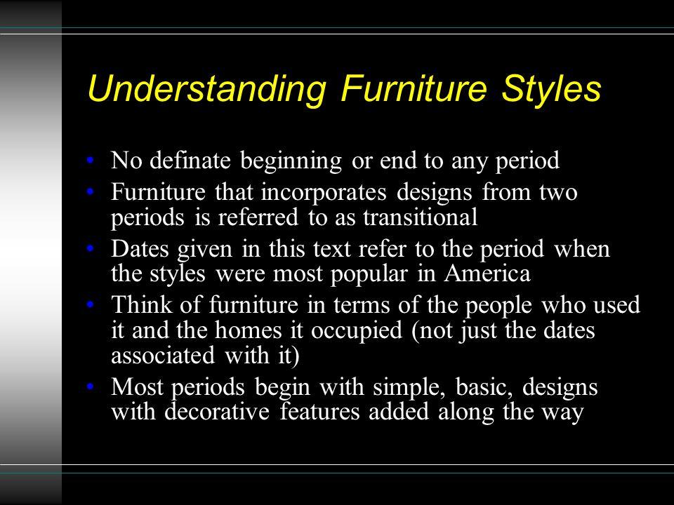 Understanding Furniture Styles