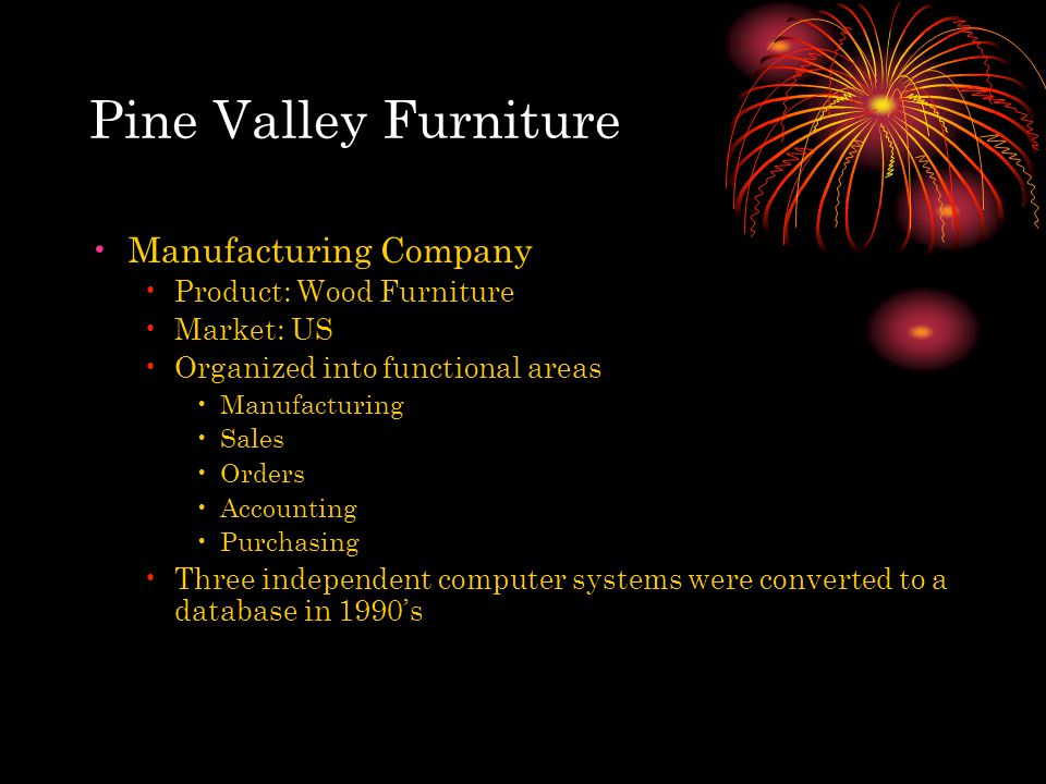 3 Pine Valley Furniture Manufacturing Company Product Wood Furniture