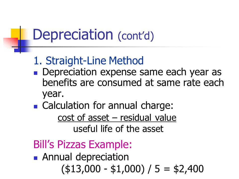 annual depreciation expense The depreciation expense reduces the company's net income on the income statement and adds to its accumulated depreciation on the balance sheet, which decreases the value of balance sheet long-term assets.