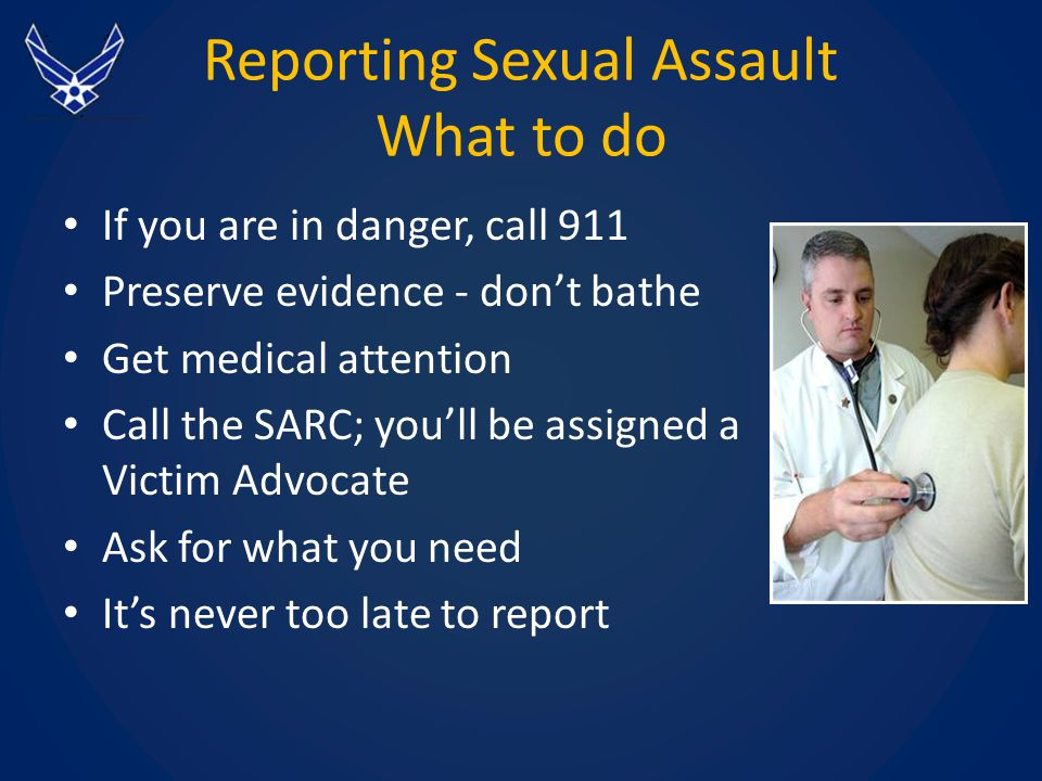 Responding to sexual assault disclosures powerpoint