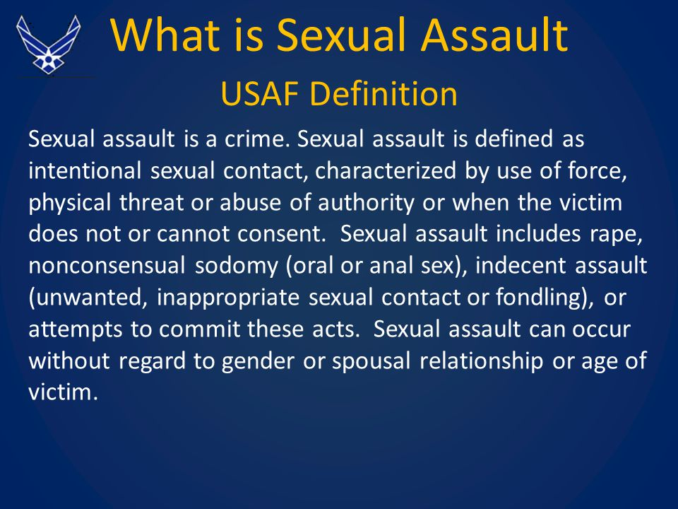 of assualt definition sexual