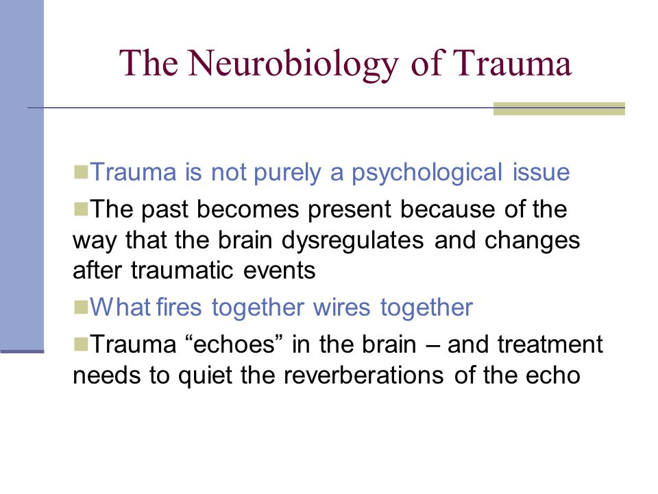 neurobiology and treatment of traumatic dissociation pdf