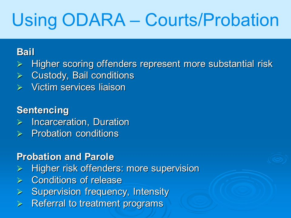 understanding probation and parole Index to adult community supervision (parole and probation) offices in florida.