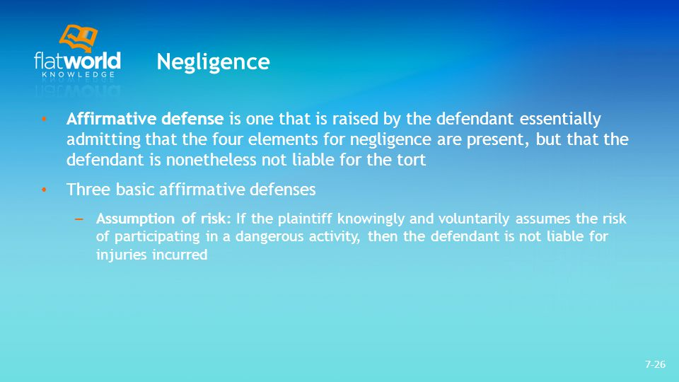 in defense of negligence Leg 107 wk 8 assignment 2 - in defense of negligence to purchase click link below.