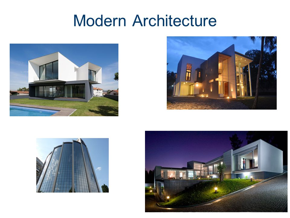 1 1 3 architectural styles modern architecture ppt video for New architectural styles