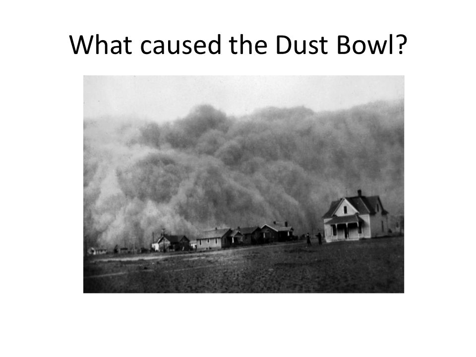 What caused the Dust Bowl