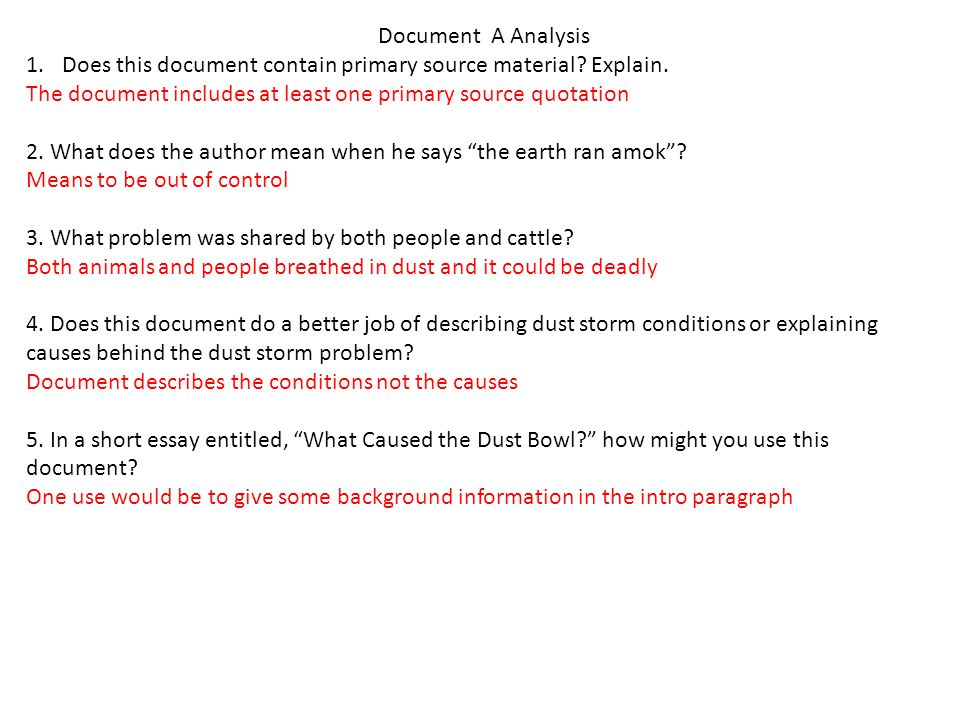 short essay on the dust bowl Dust bowl curriculum or effects of the dust bowl they will prepare a short final exam over the dust bowl unit essay exam.