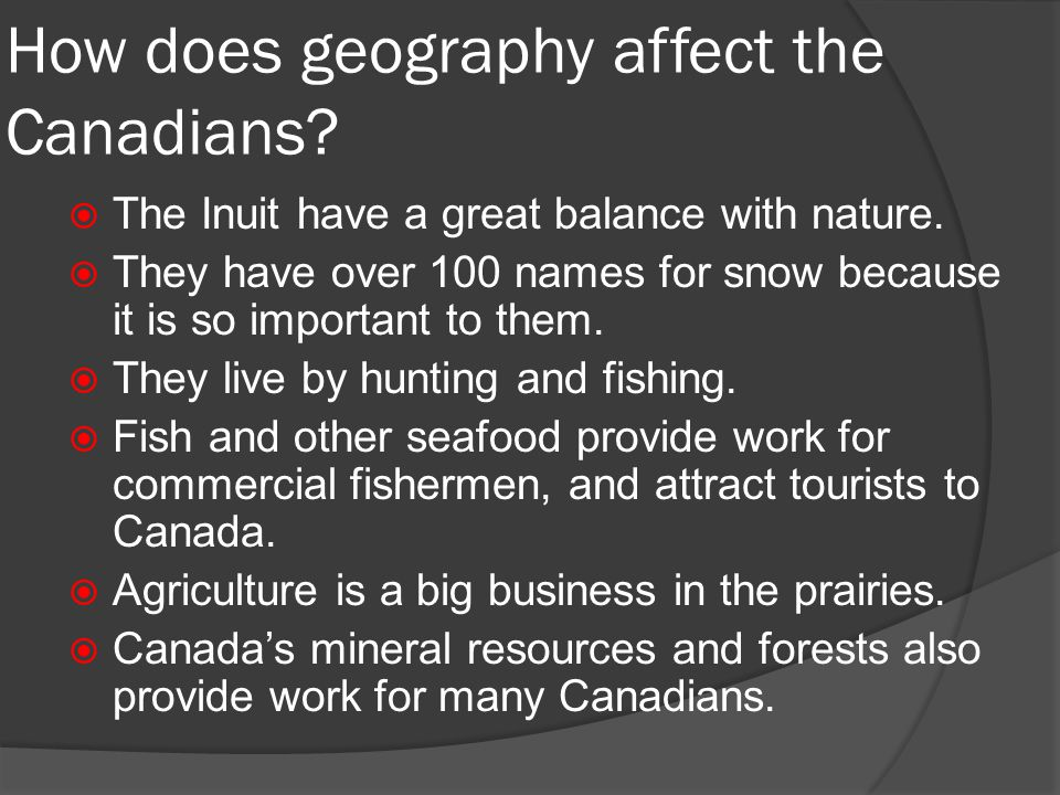how does geography influence people where they live How does geography influence our values  and one of the key points that we studied was the influence the geography of  many of the people who live.