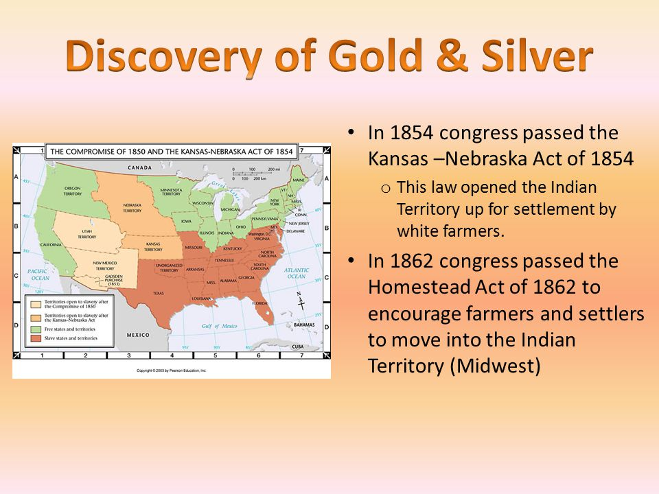 Westward expansion ppt video online download for Kansas homestead act