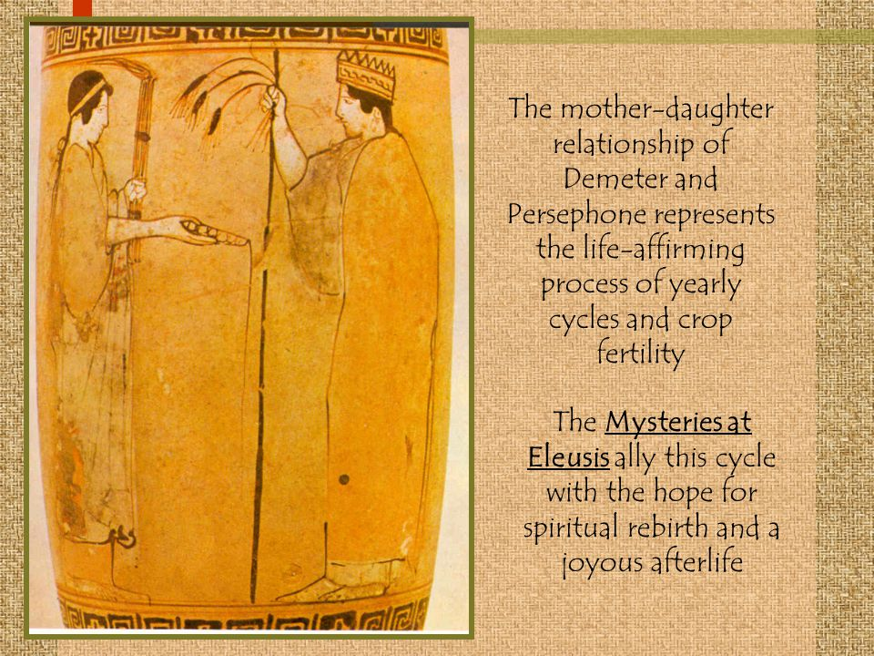 demeter and persephone mother daughter relationship