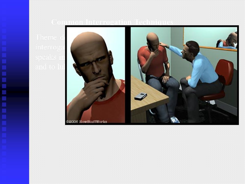 how to become a police interrogator